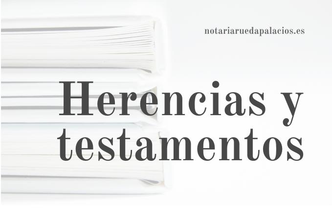 Notaria Vitoria-Gasteiz - Notaría Rueda Palacios - herencias y testamentos